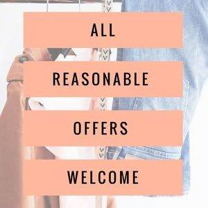 Other - All reasonable offers welcome ♥️